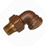 "Genuine American Dryer Part #141317 1/2"" BRONZE UNION ELBOW T-438"