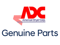Genuine American Dryer Part #850875 ADS-330 STEAM DAMPER (WELDMENT)